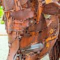 Metal Steer  by Tikvah's Hope
