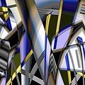 Metallic 3 by Ron Bissett