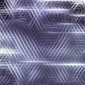 Metallic Cross Pattern  by Danuta Bennett