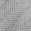 Metallic Grey Rope Weaved Pattern by Yanin Kongurai