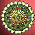 Metallic Mandala by Becky Herrera
