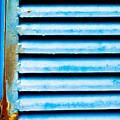Metallic Shutter by Tom Gowanlock