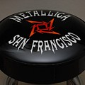 Metallica Bar Stool by Rob Hans