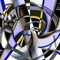 Metallics 5 by Ron Bissett
