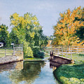Metamora Canal by Anne Rhodes
