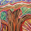 Metamorphosis Of The Great Tree Into Petrified Wood by Michael Richardson