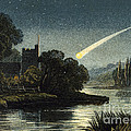 Meteor In Night Sky, 1868 by Wellcome Images