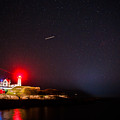 Meteor Over Nubble by John Crookes