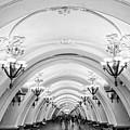 Metro Arbatskaya by Delphimages Photo Creations