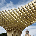 Metropol Parasol At The Plaza Of The Incarnation In Seville Spai by Reimar Gaertner