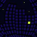 Metropolis At Night by Richard Wareham