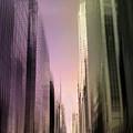 Metropolis Sunset by Jessica Jenney