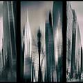 Metropolis Triptych 3 by Jessica Jenney