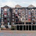 Metropolitan Wharf by Peter Wilson
