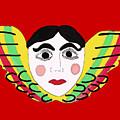 Mexican Cherub by Priscilla Wolfe