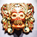 Mexican Day Of The Dead Mask by A Gurmankin