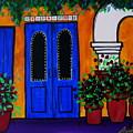 Mexican Door by Pristine Cartera Turkus
