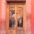 Mexican Doorway 2 by Francine Gourguechon
