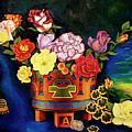Mexican Flowers by Arte Dika By Jose Sanchez Martinez