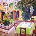 Mexican Garden Restaurant by Madeleine Prochazka