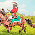Mexican Horse Soldiers by Kim Henderson