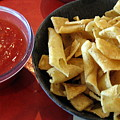 Mexican Inn Chips And Salsa by Amy Hosp