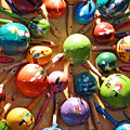 Mexican Maracas by Methune Hively