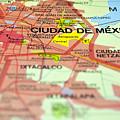 Mexico City Map. by Fernando Barozza