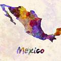Mexico In Watercolor by Pablo Romero