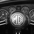 Mg Midget Dashboard by Neil Zimmerman
