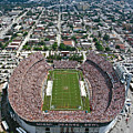 Miami Aerial Of Orange Bowl Stadium by Scott B Smith Photography