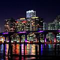 Miami At Night -3 by Ali Zaidi