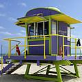 Miami Beach by Bob Christopher