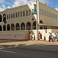 Miami Beach Synagogue Saturday Morning by Zalman Latzkovich