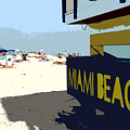 Miami Beach Work Number 1 by David Lee Thompson