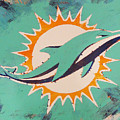 Miami Dolphins by Candace Shrope