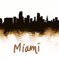 Miami Fla 2 Skyline by Enki Art