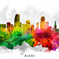 Miami Florida Cityscape 12 by Aged Pixel