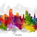 Miami Florida Cityscape 13 by Aged Pixel