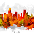 Miami Florida Cityscape 15 by Aged Pixel