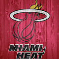 Miami Heat Barn Door by Dan Sproul