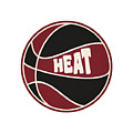 Miami Heat Retro Shirt by Joe Hamilton