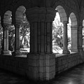Miami Monastery In Black And White by Rob Hans