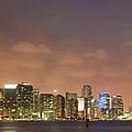 Miami Skyline by Cliff Wassmann
