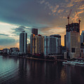 Miami Sunset by Nisah Cheatham