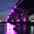 Miami Under The 395 At Night by Ken Figurski