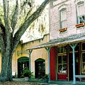 Micanopy Storefronts by Nelson Strong