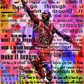 Michael Air Jordan Motivational Inspirational Independent Quotes 3 by Diana Van