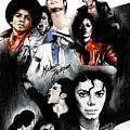 Michael Jackson - King Of Pop by Lin Petershagen