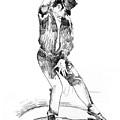 Michael Jackson Dancer by David Lloyd Glover